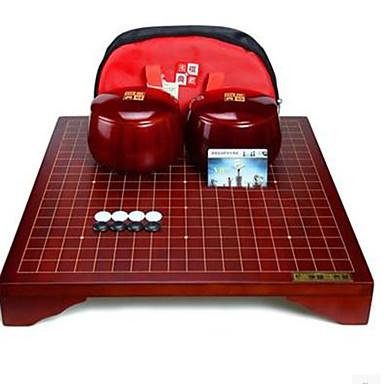Jocuri de masă Joc de sah Gobang Go/Weiqi Jucarii Circular Plastic Bucăți Pentru copii Unisex Cadou