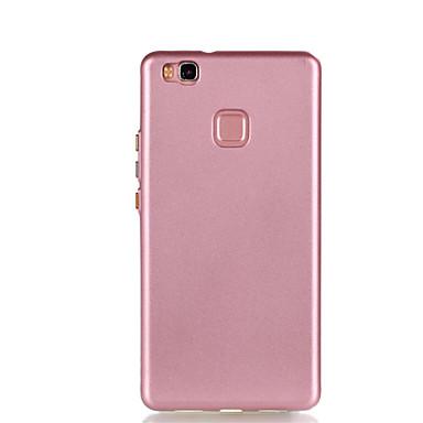 Varten Pinnoitus Etui Takakuori Etui Yksivärinen Pehmeä TPU varten Huawei Huawei P9 Lite Huawei P8 Lite