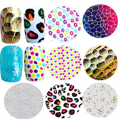1pcs Sanat Sticker Nail Makyaj Kozmetik Sanat Tasarım Nail