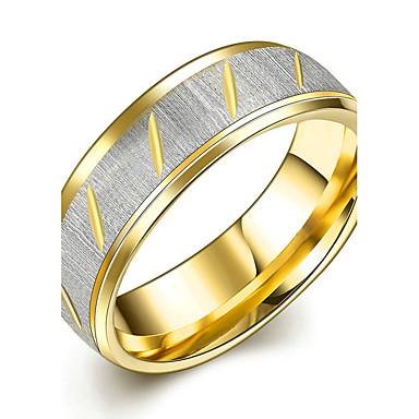 Kadın's Evlilik Yüzükleri Kristal Moda minimalist tarzı Gelin Titanyum Çelik Round Shape Mücevher Uyumluluk Düğün Parti Özel Anlar