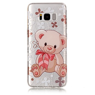 tok Για Samsung Galaxy S8 Plus S8 IMD Διαφανής Με σχέδια Πίσω Κάλυμμα Ζώο Μαλακή TPU για S8 Plus S8 S7 edge S7 S6 edge S6 S5