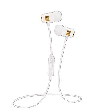 JTX JTXW1 في الاذن الرقبة الفرقة لاسلكي Headphones ديناميكي بلاستيك الرياضة واللياقة البدنية سماعة مع ميكريفون مع التحكم في مستوى الصوت