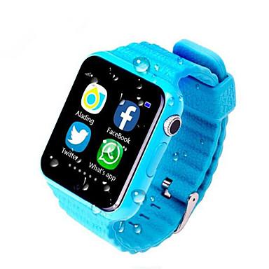 זול שעונים חכמים-שעונים 'ילדים ל iOS / Android מוניטור קצב לב / כלוריות שנשרפו / המתנה ארוכה / שיחות ללא מגע יד / מסך מגע מד פעילות / מעקב שינה / תזכורת בישיבה / מצאו את המכשירשלי / Altimeter / 2 MP / 64MB / מצלמה