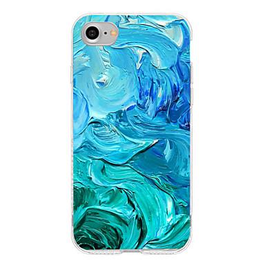Kılıf Na Apple iPhone 7 Plus iPhone 7 Wzór Czarne etui Przejście kolorów Miękkie TPU na iPhone 7 Plus iPhone 7 iPhone 6s Plus iPhone 6s