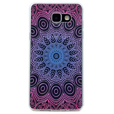 hoesje Voor Samsung Galaxy A5(2017) A3(2017) Transparant Patroon Achterkantje Mandala Zacht TPU voor A3 (2017) A5 (2017) A7 (2017)