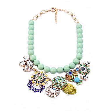 Damskie Oświadczenie Naszyjniki Kryształ Biżuteria Unikalny Biżuteria Na Specjalne okazje