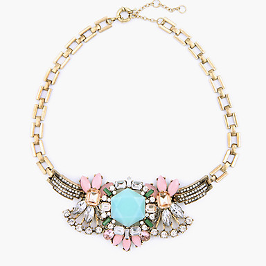 Pentru femei Coliere cu Pandativ Cristal Flower Shape Personalizat Lux Design Unic Bijuterii Pentru