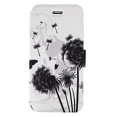 Etui Käyttötarkoitus Samsung Galaxy J5 (2016) J3 (2016) Korttikotelo Tuella Flip Kuvio Kokonaan peittävä Voikukka Kova PU-nahka varten
