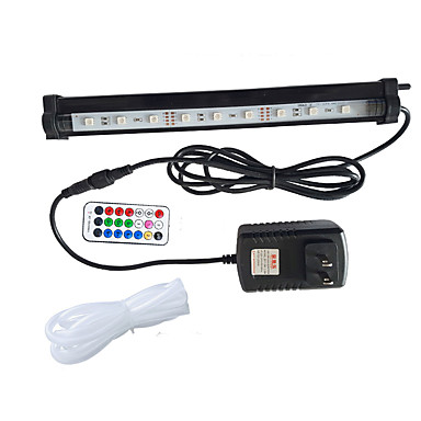 Akvaryumlar LED Işık Değişim Uzaktan Kontrol LED lamba 220VV