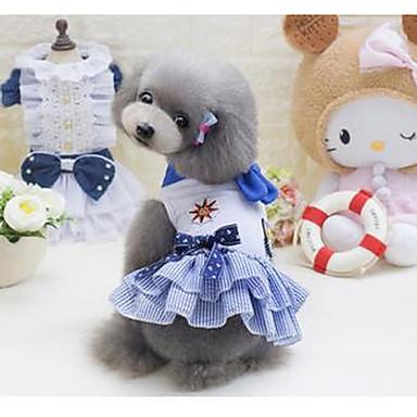 كلب المعاطف ملابس الكلاب كارتون أزرق زهري قطن كوستيوم للحيوانات الأليفة للرجال للمرأة جميل كاجوال/يومي