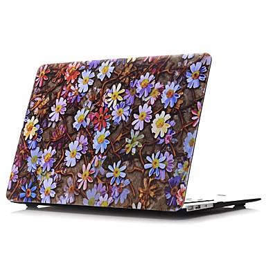 MacBook Carcase pentru Floare Pictură ulei PVC Material