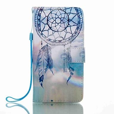 إلى محفظة حامل البطاقات مع حامل قلب نموذج غطاء كامل الجسم غطاء ملاحق الأحلام قاسي جلد اصطناعي إلى HuaweiHuawei P8 Lite (2017) Huawei Mate