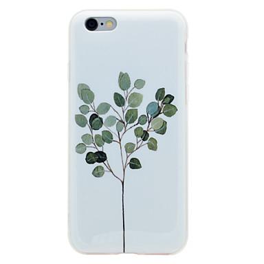 Na iPhone 8 iPhone 8 Plus Etui Pokrowce IMD Wzór Etui na tył Kılıf Drzewo Miękkie Poliuretan termoplastyczny na Apple iPhone 8 Plus