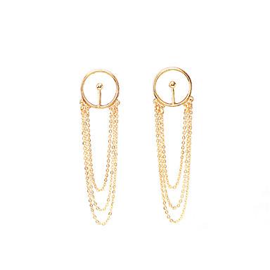 Kadın Sallantılı Küpe Küpeler / Bilezik Mücevher Avrupa Euramerican alaşım Mücevher Mücevher Uyumluluk Parti Günlük