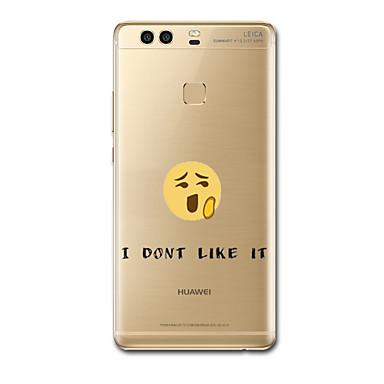 Na Etui Pokrowce Ultra cienkie Wzór Etui na tył Kılıf Rysunek Miękkie Poliuretan termoplastyczny na Huawei Huawei P9 Huawei P9 Lite