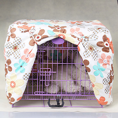 Γάτα Σκύλος Κρεβάτια Κατοικίδια Καλύμματα Λουλούδι Πτυσσόμενο Ουράνιο Τόξο