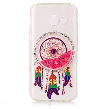tok Για Samsung Galaxy A5(2017) A3(2017) Στρας Διαφανής Φτιάξτο Μόνος Σου Πίσω Κάλυμμα Λάμψη γκλίτερ Ονειροπαγίδα Μαλακή TPU για A3