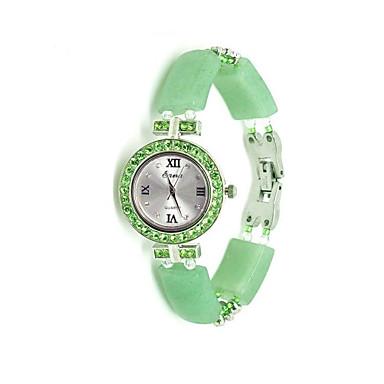 Pentru femei Ceas La Modă Quartz Jade Bandă Verde
