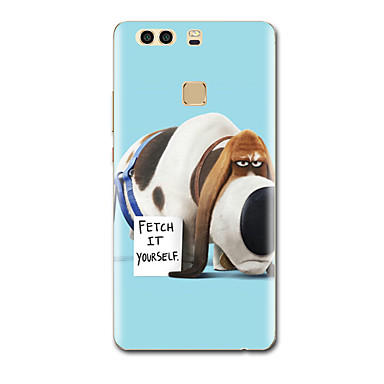 Etui Käyttötarkoitus Huawei Ultraohut Kuvio Takakuori Koira Pehmeä TPU varten P9 P9 Lite P9 Plus P8 P8 Lite P7