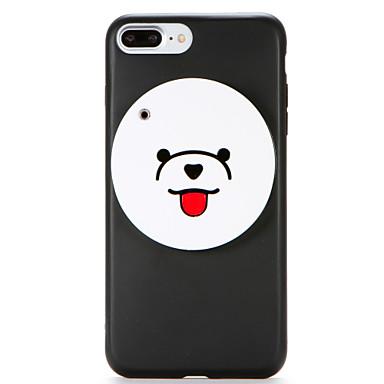 Για IMD Καθρέφτης Φτιάξτο Μόνος Σου tok Πίσω Κάλυμμα tok Κινούμενα σχέδια 3D Μαλακή TPU για AppleiPhone 7 Plus iPhone 7 iPhone 6s Plus