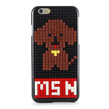 Varten Kuvio DIY Etui Takakuori Etui Koira Kova PC varten Apple iPhone 7 Plus iPhone 7 iPhone 6s Plus iPhone 6 Plus iPhone 6s iPhone 6