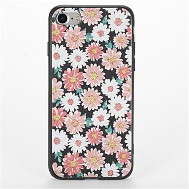غطاء من أجل Apple iPhone 7 Plus iPhone 7 نموذج غطاء خلفي زهور ناعم TPU إلى iPhone 7 Plus iPhone 7 iPhone 6s Plus ايفون 6s iPhone 6 Plus