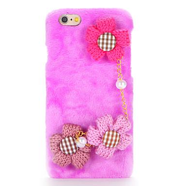 Για Φτιάξτο Μόνος Σου tok Πίσω Κάλυμμα tok Λουλούδι Σκληρή Ύφασμα για AppleiPhone 7 Plus iPhone 7 iPhone 6s Plus iPhone 6 Plus iPhone 6s