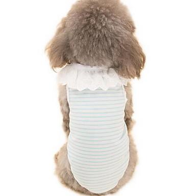 Câine Rochii Îmbrăcăminte Câini Draguț Casul/Zilnic Modă Desene Animate Albastru Roz Verde Deschis Costume Pentru animale de companie