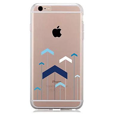 غطاء من أجل Apple iPhone 7 Plus iPhone 7 شفاف نموذج غطاء خلفي نموذج هندسي ناعم TPU إلى iPhone 7 Plus iPhone 7 iPhone 6s Plus ايفون 6s