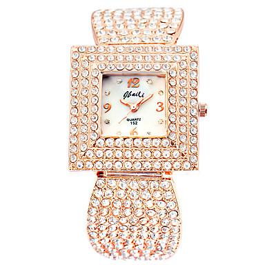 Kadın's Moda Saat Kol Saatleri Quartz Alaşım Bant Gül Altın