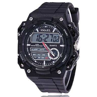 f8afb60aea8 Pánské Sportovní hodinky Módní hodinky Hodinky k šatům Digitální Silikon  Vícebarevný Velký ciferník Analog - Digitál