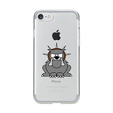 Na Przezroczyste Wzór Kılıf Etui na tył Kılıf Pies Miękkie TPU na AppleiPhone 7 Plus iPhone 7 iPhone 6s Plus iPhone 6 Plus iPhone 6s