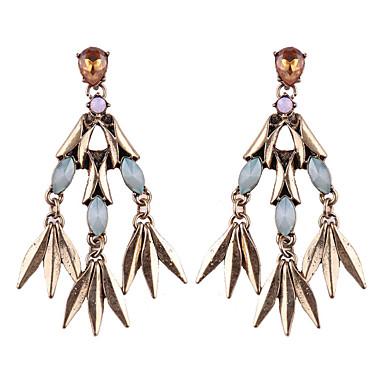 Damskie Kolczyki wiszące Biżuteria Modny Bohemia Style euroamerykańskiej Kamień szlachetny Biżuteria Biżuteria Na Ślub Impreza Specjalne