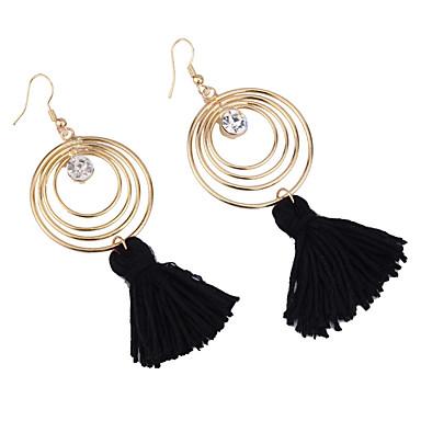 Damskie Kolczyki wiszące Biżuteria Postarzane euroamerykańskiej Modny Kamień szlachetny Biżuteria Biżuteria Na Ślub Impreza Specjalne