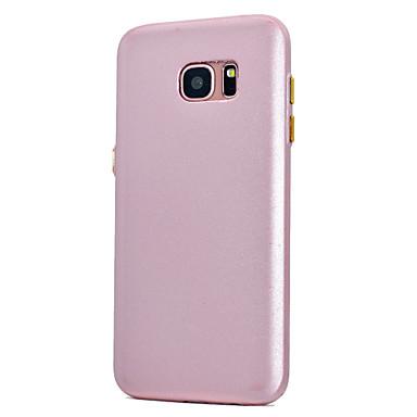 Etui Käyttötarkoitus Samsung Galaxy S8 Plus S8 Pinnoitus Himmeä Takakuori Yhtenäinen väri Pehmeä TPU varten S8 S8 Plus S7 edge S7