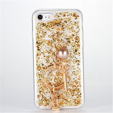Pentru Placare Reparații Maska Carcasă Spate Maska Shine Glitter Moale TPU pentru AppleiPhone 7 Plus iPhone 7 iPhone 6s Plus iPhone 6