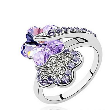 Γυναικεία Εντυπωσιακά Δαχτυλίδια Κοσμήματα Βασικό Εξατομικευόμενο Euramerican Συνθετικοί πολύτιμοι λίθοι Κοσμήματα Κοσμήματα Για Πάρτι