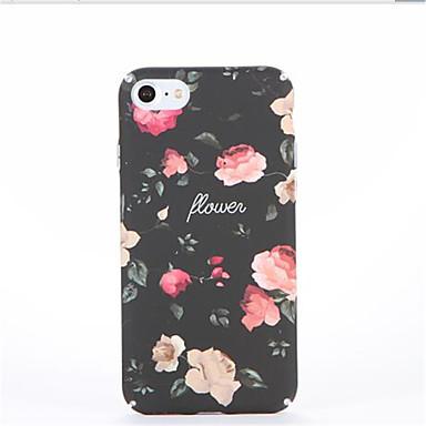 Etui Käyttötarkoitus Apple iPhone 7 Plus iPhone 7 Kuvio Takakuori Kukka Kova PC varten iPhone 7 Plus iPhone 7 iPhone 6s Plus iPhone 6s