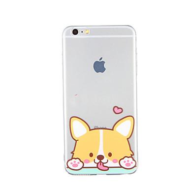 Na Wzór Kılıf Etui na tył Kılıf Pies Miękkie TPU na Apple iPhone 6s Plus iPhone 6 Plus iPhone 6s iphone 6 iPhone SE/5s iPhone 5
