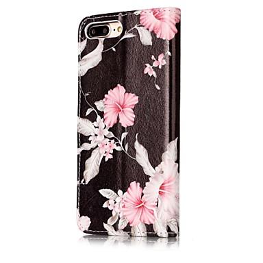 Porta portafoglio Integrale pelle Custodia iPhone X Per per iPhone 05697792 Con di X 8 Apple carte Plus iPhone credito iPhone A iPhone Fiore Resistente 8 decorativo supporto sintetica 8 q806qBxU