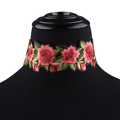 Kadın's Çiçek Çiçek Çiçek Stili Çiçekler Gerdanlıklar Gerdanlıklar , Düğün Parti Özel Anlar Doğumgünü Günlük