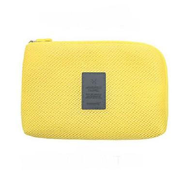 حقيبة مستحضرات التجميل منظم أغراض السفر المحمول تخزين السفر إلى كابلUSB ملابس نايلون / السفر