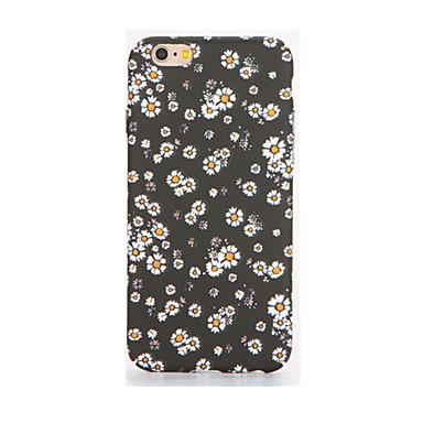 tok Για Apple iPhone 7 Plus iPhone 7 Λάμπει στο σκοτάδι Με σχέδια Ανάγλυφη Πίσω Κάλυμμα Λουλούδι Μαλακή TPU για iPhone 7 Plus iPhone 7