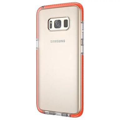 غطاء من أجل Samsung Galaxy S8 Plus S8 نحيف جداً شفاف غطاء خلفي لون الصلبة ناعم TPU إلى S8 Plus S8