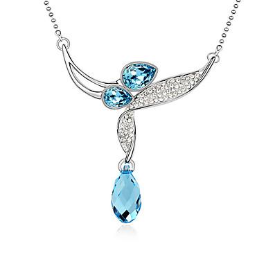 Γυναικεία Κρεμαστά Κολιέ Κρυστάλλινο Κοσμήματα Μοντέρνα Λατρευτός Κοσμήματα Για Γάμου