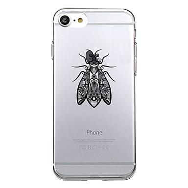 Uyumluluk Kılıflar Kapaklar Ultra İnce Temalı Arka Kılıf Pouzdro Hayvan Yumuşak TPU için Apple iPhone 7 Plus iPhone 7 iPhone 6s Plus