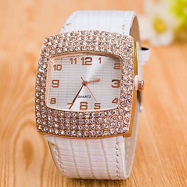 Pentru femei Ceas de Mână Ceas Elegant  Ceas La Modă Ceas Sport Chineză Quartz imitație de diamant Piele Autentică Bandă Charm Creative