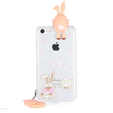 إلى شفاف نموذج غطاء غطاء خلفي غطاء 3Dكرتون قاسي PC إلى Apple فون 7 زائد فون 7 iPhone 6s Plus iPhone 6 Plus iPhone 6s أيفون 6
