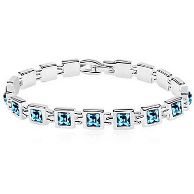 Pentru femei Brățări cu Lanț & Legături Bijuterii Prietenie La modă Cristal Aliaj Geometric Shape Bijuterii Pentru Petrecere Zi de Naștere