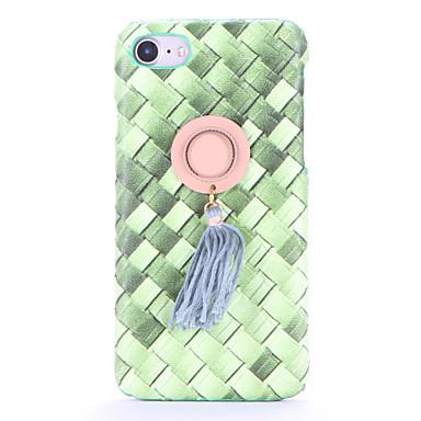 Için Kendin-Yap Pouzdro Arka Kılıf Pouzdro Renkli Gradyan Sert Tekstil için AppleiPhone 7 Plus iPhone 7 iPhone 6s Plus iPhone 6 Plus